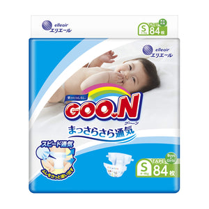 ELLEAIR GOO.N Baby Diaper S Size (84 Sheets) (with Tape Straps)-For Great Vancouver Area Only!