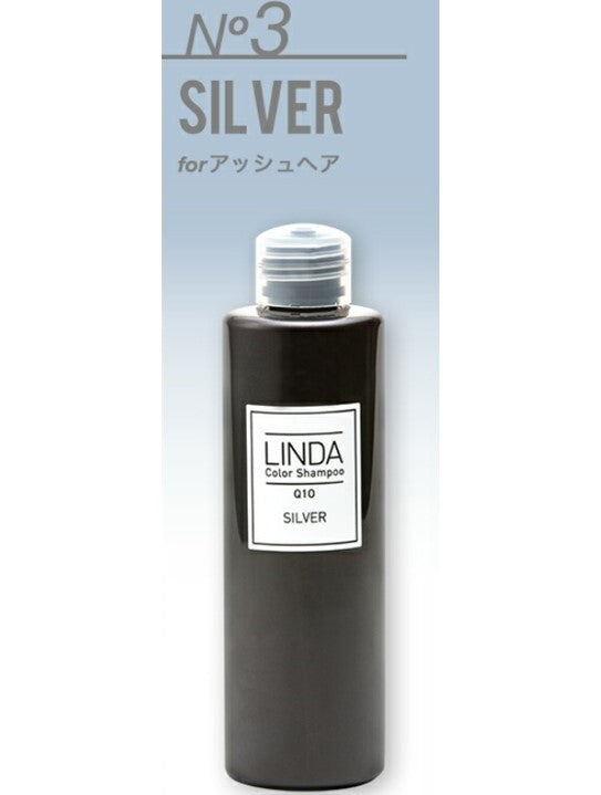 LINDA Color Shampoo (300ml)- Sliver/ Red/ Purple
