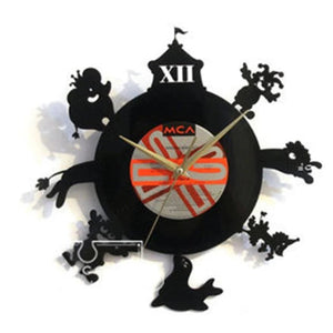 AYI ART Vinyl Record Clock Time Traveler 1888- Circus - Lifecode Boutique