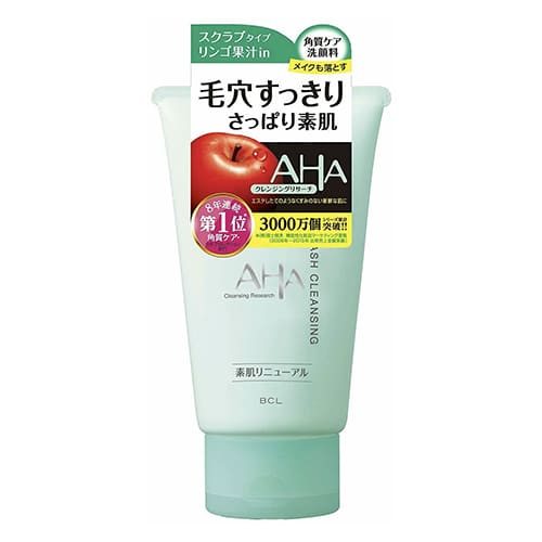 BCL AHA Cleansing Research Wash Cleansing (120g) - Beauty
