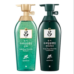 RYO Deep Cleansing Shampoo/Rinse - Green 400ml