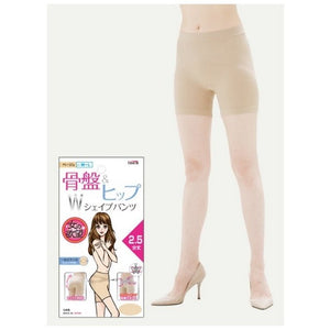 TRAIN SHOP Japan Pelvis Correction & Hip Lifting Pants- Beige (M~L/L~LL) /Black (L~LL)