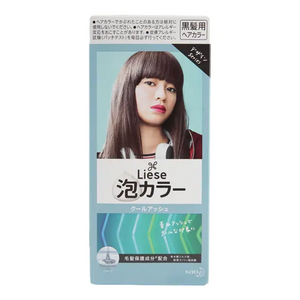 SHISEDO PERFECT KAO LIESE Design Series Creamy Bubble Hair Color (Black hair only)