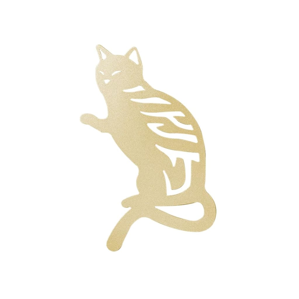 Desk+1 American Shorthair Bookmark - Gold - Lifecode Boutique