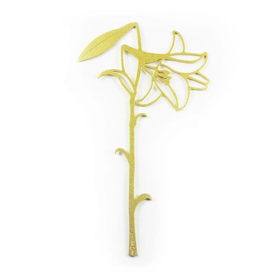 Desk+1 Lily Bookmark (Gold/Pink) - Lifecode Boutique