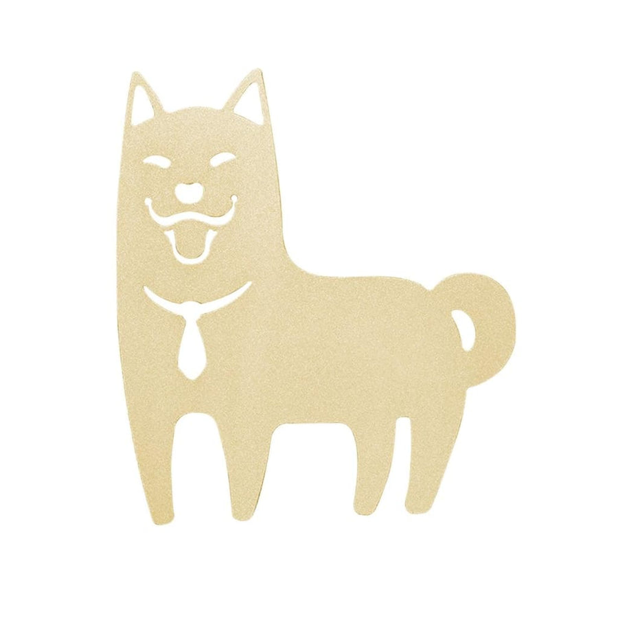 Desk+1 Shiba Inu Bookmark - (Gold/Orange) - Lifecode Boutique