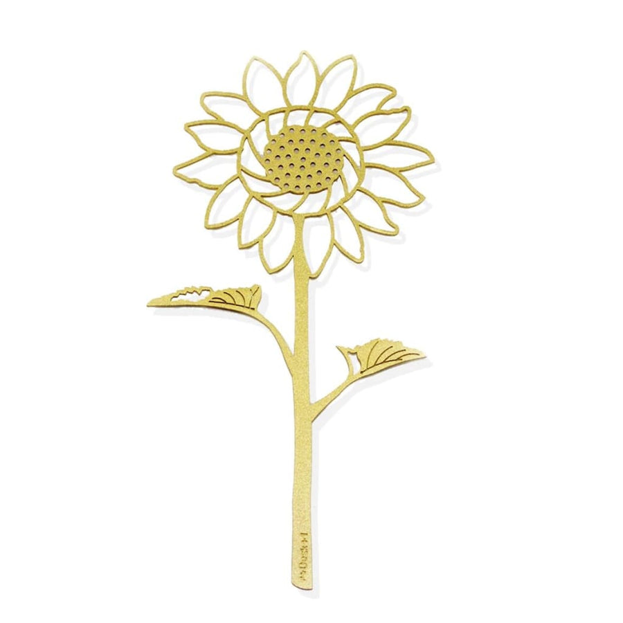 Desk+1 Sunflower Bookmark- Gold - Lifecode Boutique