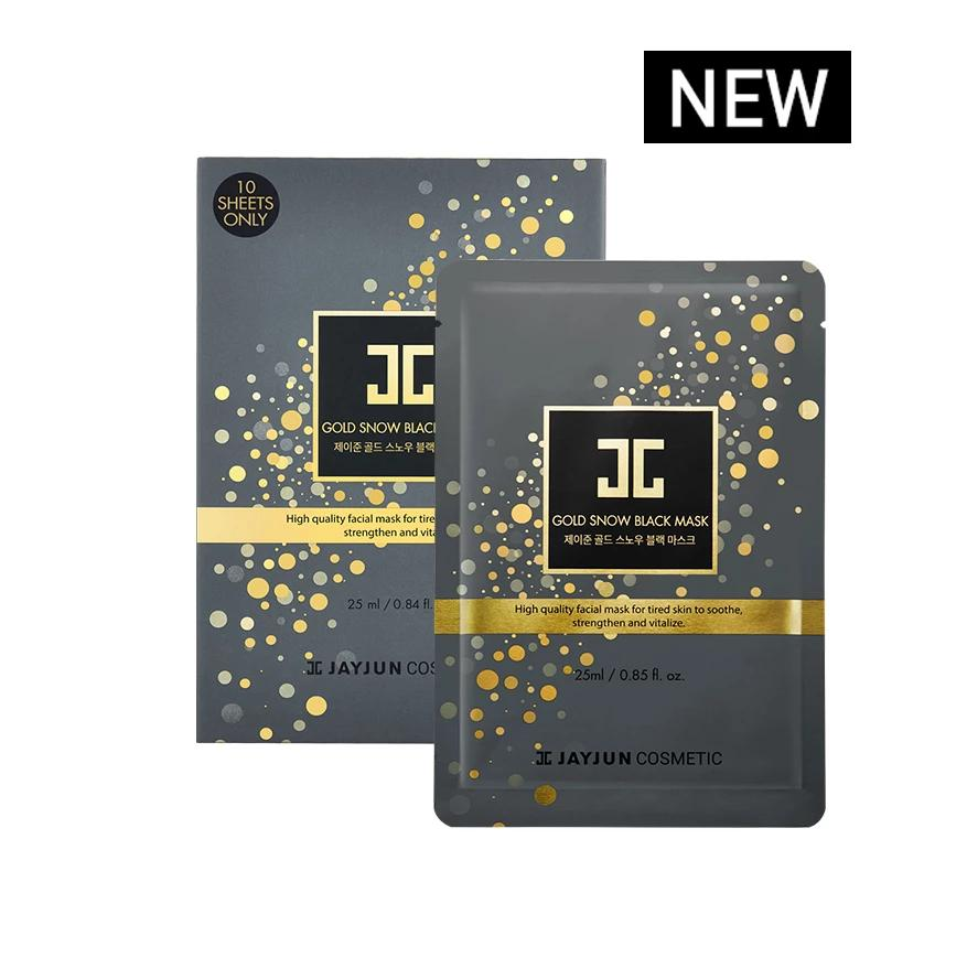 JAYJUN Gold Snow Black Mask - Lifecode Boutique