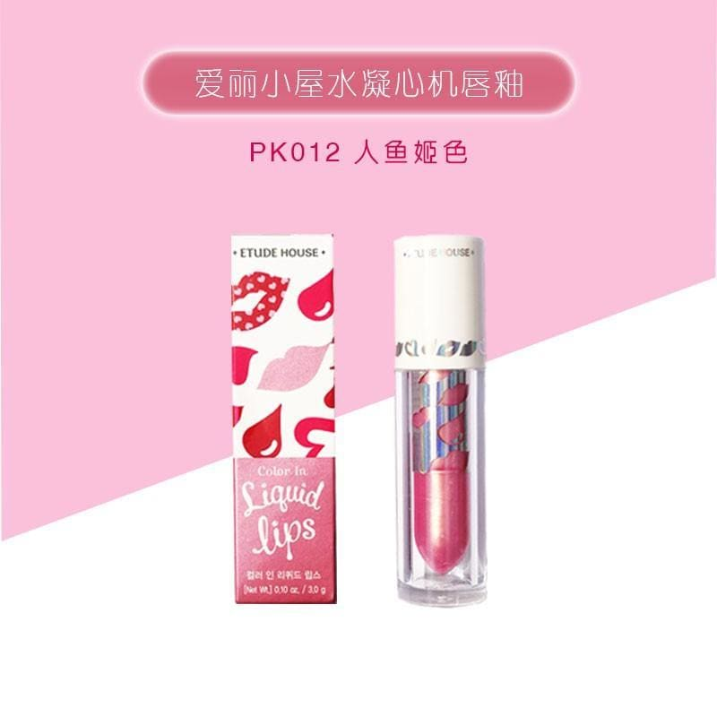 ETUDE HOUSE Color In Liquid Lips- PK012 (3g) - Beauty