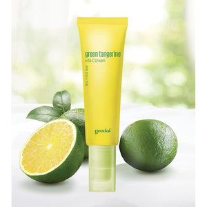 GOODAL Green Tangerine Vita C Cream (50ml) - Beauty
