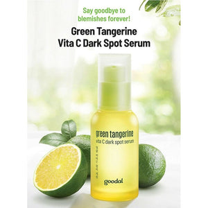 GOODAL Green Tangerine Vitamin C Dark Spot Facial Serum for