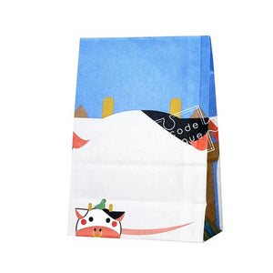 HEIKO ANIMAL PAPER BAGS - COW - 50 SHEET - Lifecode Boutique