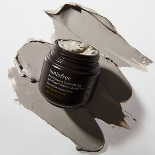 INNISFREE Pore Clearing Clay Mask with Super Volcanic