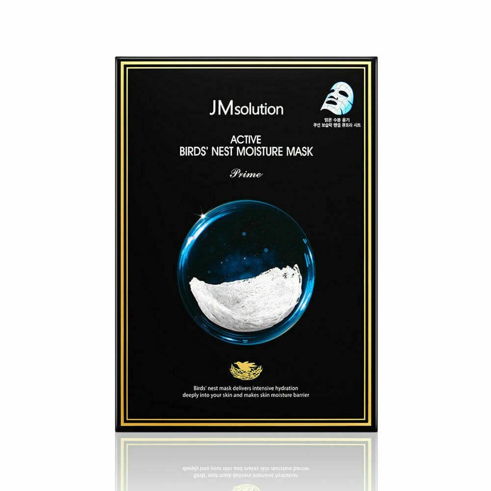 JM SOLUTION Active Bird's Nest Moisture Mask (10pcs/box) - Lifecode Boutique