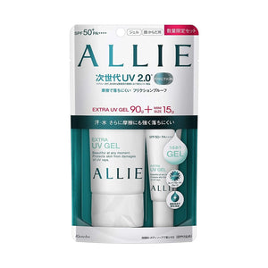 KANEBO ALLIE Extra UV Gel SPF50+ PA++++ Quantity Set (90g +