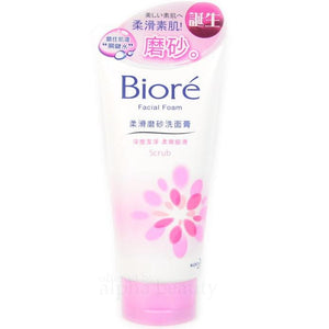 KAO BIORE Facial Cleansing Foam- Scrub-in - Lifecode Boutique