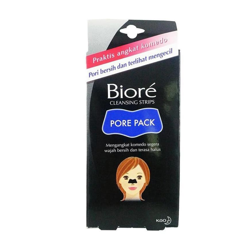 Kao Biore Pore Cleansing Strips - Black (10pcs/pack) - Lifecode Boutique