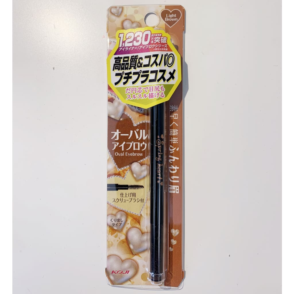 KOJI Springheart Eyebrow Pen - Light Brown - Beauty