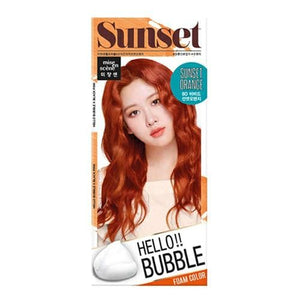 MISE EN SCENE Hello Bubble Foam Color - Sunset Orange 8O -