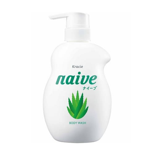 NAIVE Body Soap (530ml) - Peach Leaf Extract - Life & Style