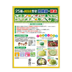 NIHON YAKKEN 25 kinds Of Domestic Veg. Lactobacillus Enzyme (30 pcs) - Lifecode Boutique