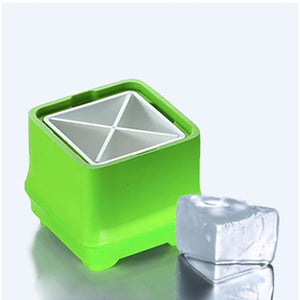Polar Ice Tray- Square Bamboo Series - Lifecode Boutique