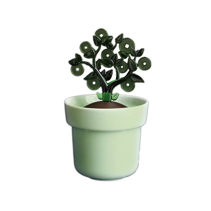 (Pre-Order) CICHI Money Tree Coin Bank - Green - Lifecode Boutique