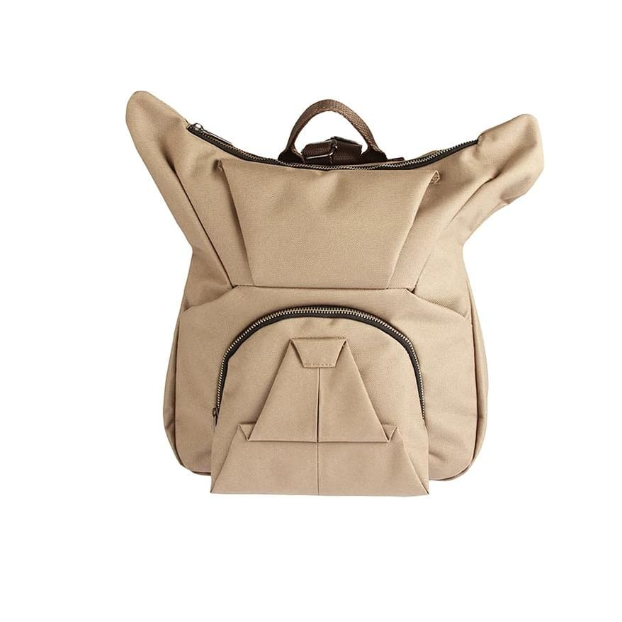 (Pre-Order) ORIBAGU Backpack- Brown Bulldog - Lifecode Boutique