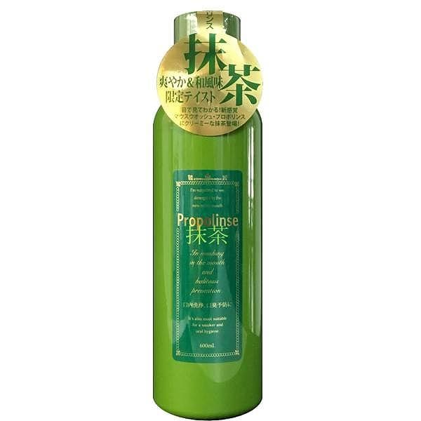 PROPOLIS Green Tea Matcha Mouthwash (600ml) - Beauty