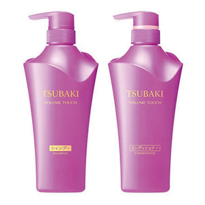 SHISEIDO TSUBAKI Shampoo/Conditioner - Purple (Volume) 500ml