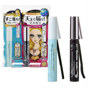 KISSME Combo Eyelash Remover + Long & Curl Mascara Black (4ml + 6 g)