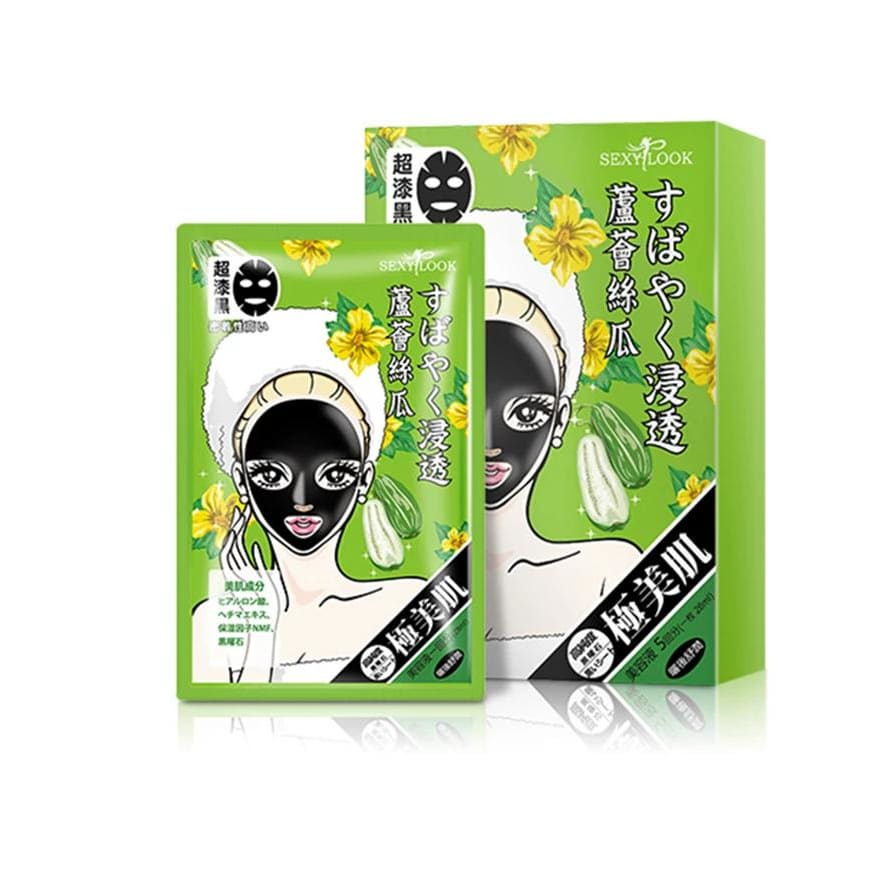 SEXYLOOK Black Mask- Soothing & Water Fill - Lifecode Boutique