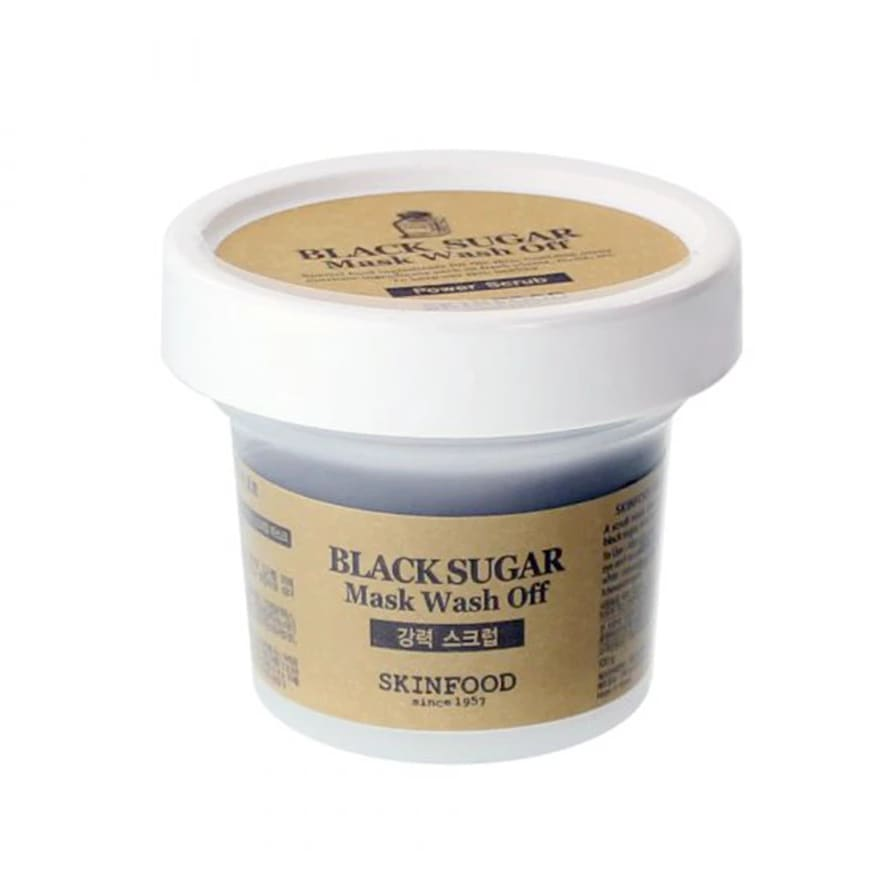 SKINFOOD Black Sugar Mask Wash Off - Lifecode Boutique