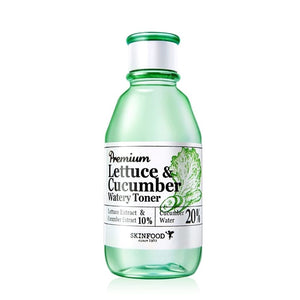SKINFOOD Premium Lettuce & Cucumber Watery Toner (180ml) - Lifecode Boutique