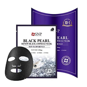 SNP Black Pearl Renew Black Ampolue Mask (10pcs / box) -