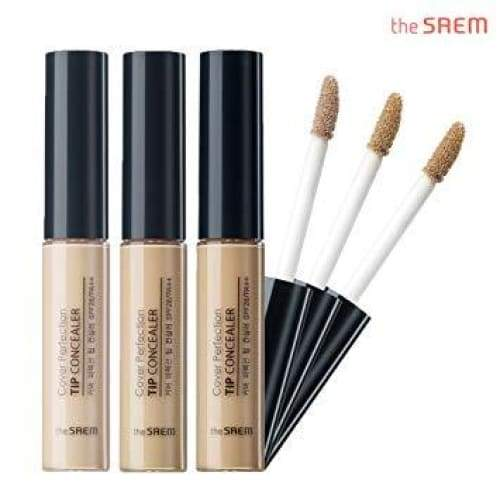 THE SAEM Cover Perfection Tip Concealer SPF28 PA++ (3 shades) - Lifecode Boutique
