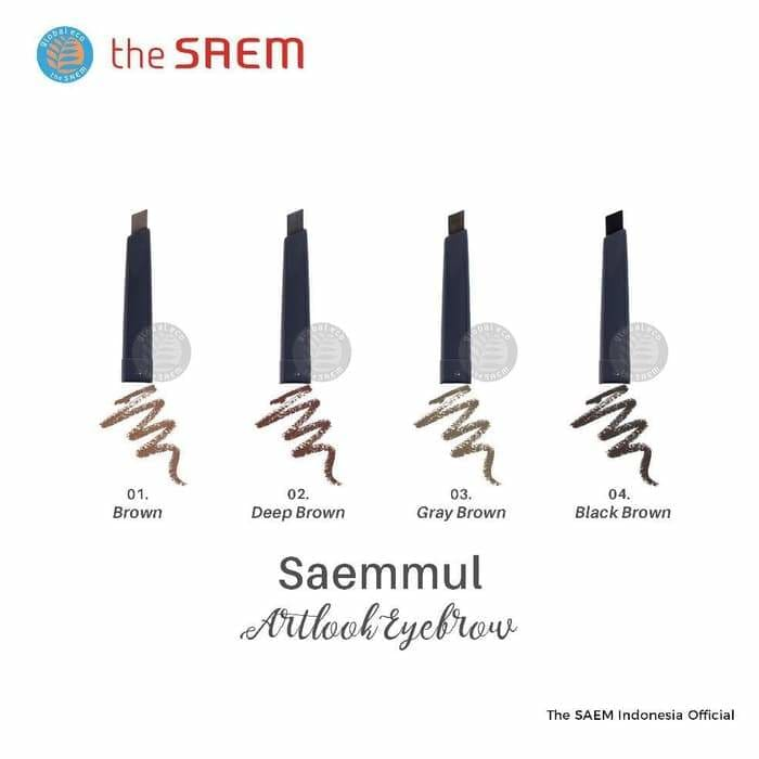 The Saem - Saemmul Artlook Eyebrow(4 colors) - Lifecode Boutique