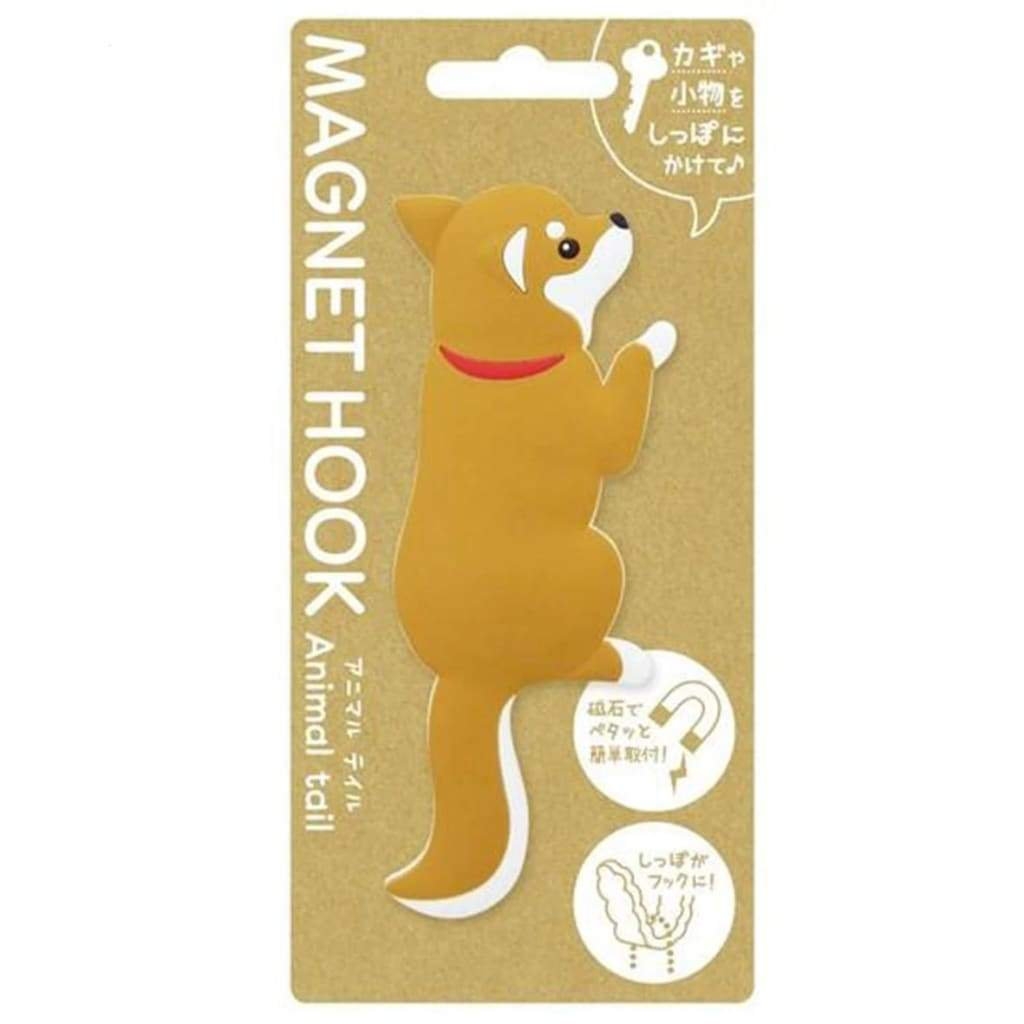 TOYO CASE Magnet Hook Animal Tail- Shiba - Lifecode Boutique