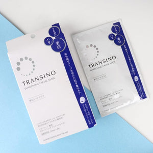 TRANSINO Whitening Facial Mask EX (4pcs/box) - Lifecode Boutique