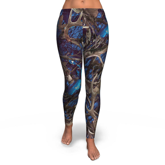 Legging All-Over 8th Design Turquoise Hunting