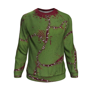 Sweatshirt Christmas All-Over 18th Frankenstein Inspired