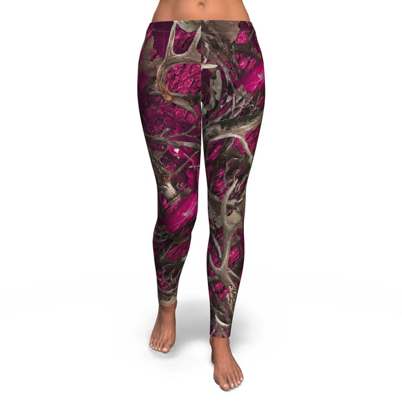 Legging All-Over 10th Design Pink Hunting