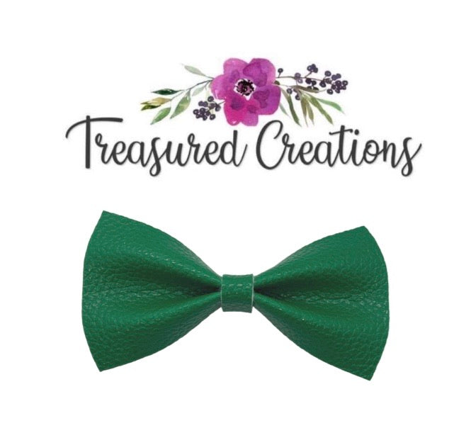 Clover Green Bow tie