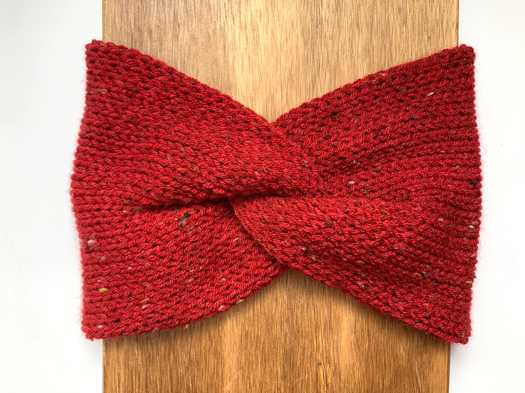 Cranberry Twist Headwrap (Adult)