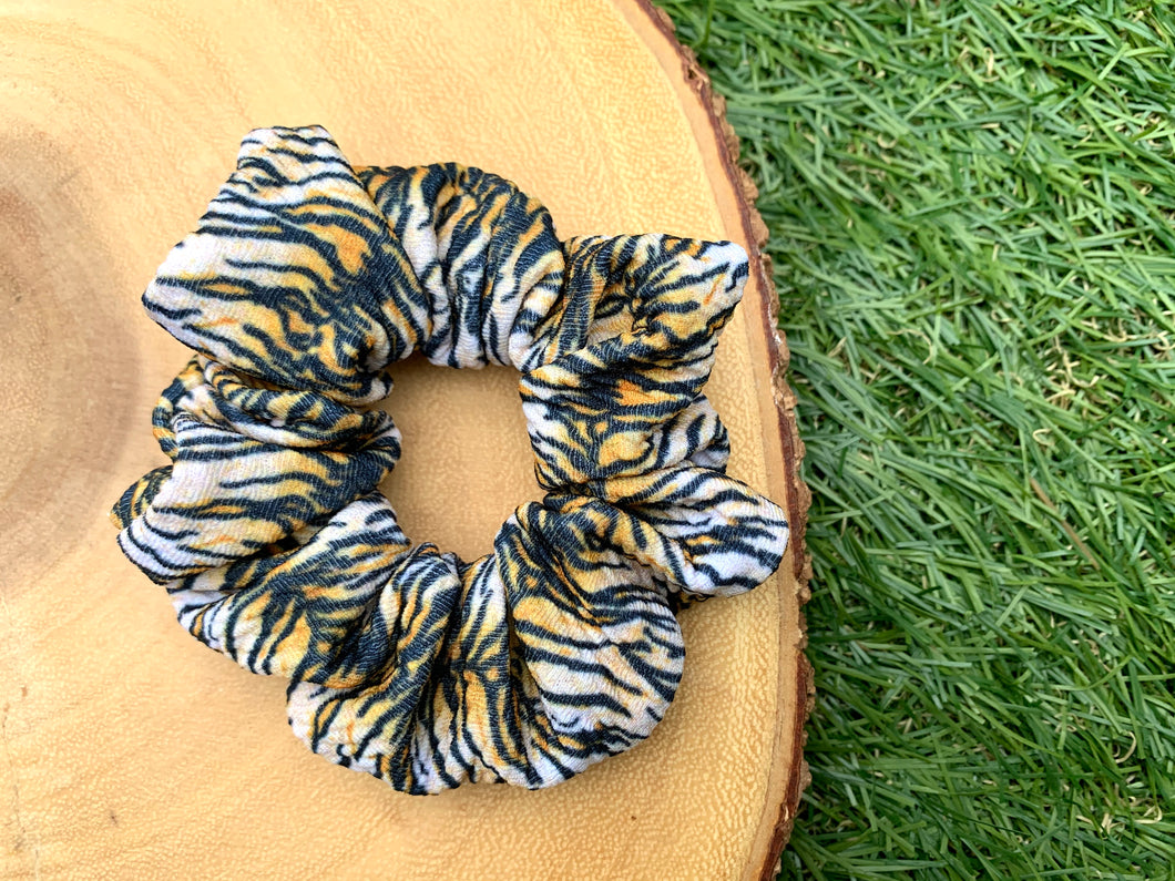 Tiger Stripes Scrunchie