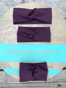 Plum Twist Headwraps