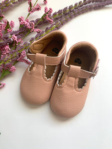 Light Pink Crib Shoes