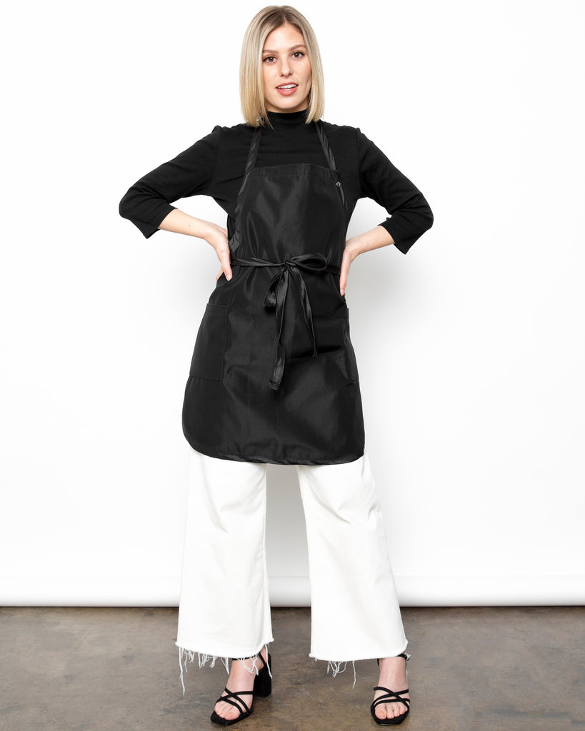 Black Premium Unisex Chemical Stylist Apron