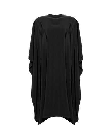 Black Premium Peachskin Cutting Cape