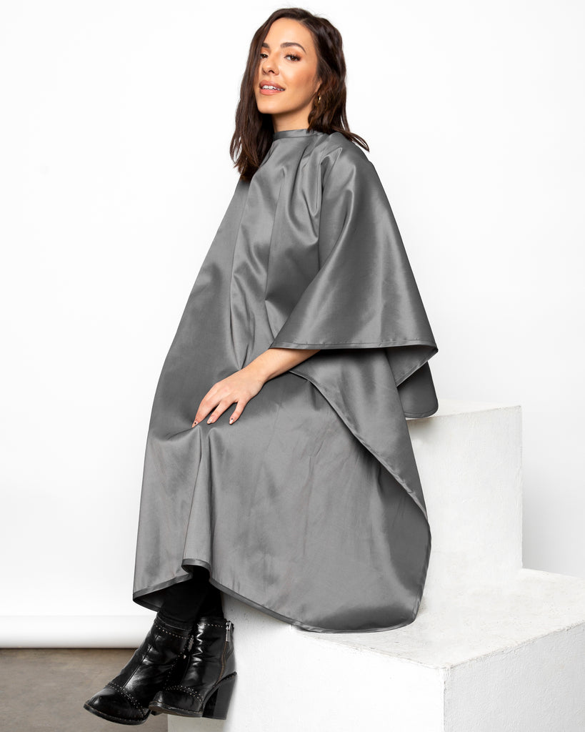 Charcoal Premium Water Proof Silkarah Cutting Cape